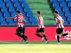 Villalibre, listo para Mestalla. EFE