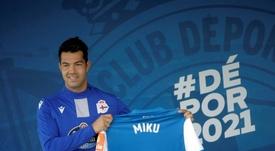 Miku estuvo dos jornadas fuera del equipo. EFE
