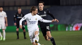 Modric é eleito o melhor jogador do Real em dezembro. EFE
