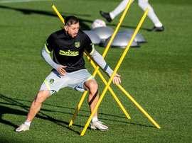 Herrera pode voltar contra o Eibar. EFE