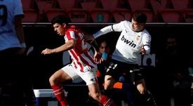 LaLiga cambia de día el Sevilla-Getafe y el Athletic-Valencia. EFE/Kai Försterling