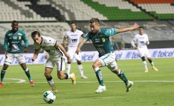 Corozo afirmó que explotará como goleador en Pumas. EFE