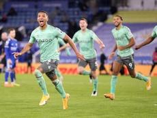 El Leicester entra en barrena. EFE/Alex Pantling