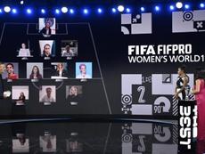 Este es el once del año femenino FIFpro. EFE