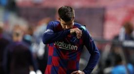 Barça-PSG : Piqué craint Neymar. EFE