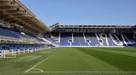 El estadio del Atalanta es sostenible y de diseño, a partes iguales. EFE