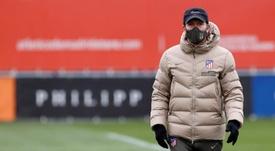 Gianluca Simeone elogió al Atlético. EFE