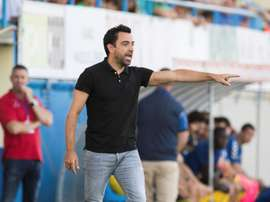 Xavi Hernández has been successful with Al Sadd. EFE
