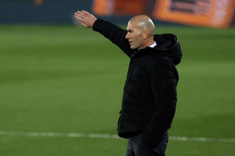 Nuevo examen para Zidane. EFE