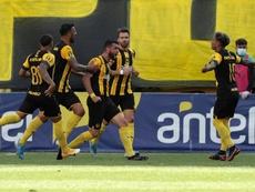 Peñarol despacha sin problemas a Danubio. EFE/Archivo