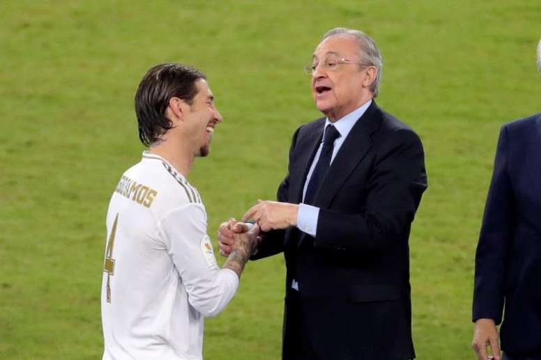 A renovação de Ramos continua no ar. EFE