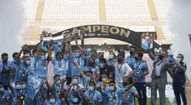 Sporting Cristal completa su década gloriosa con otro título. EFE
