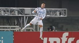 El Inter no deja en paz al Milan. EFE