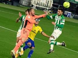Le Betis pourrait accepter l'offre du Torino pour Sanabria. EFE