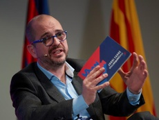 Jordi Farré habló sobre su candidatura a la presidencia del Barcelona. EFE/Archivo