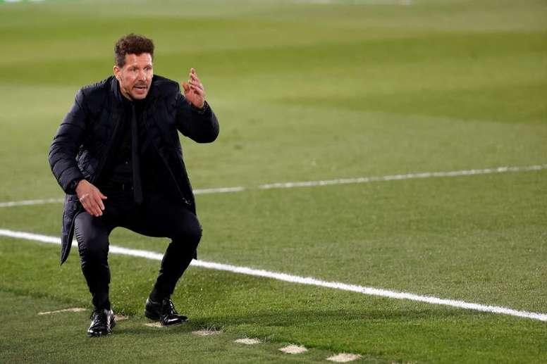 Simeone é eleito o melhor treinador de clubes da década. EFE