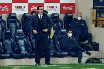 Emery s'attend à ce que Villarreal soit solide contre Osasuna. EFE/Domenech Castelló/Archivo