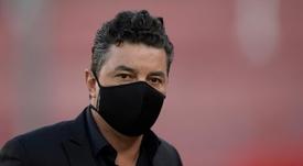 Gallardo tiene ciertas peticiones para seguir como entrenador de River. EFE