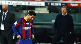 Leo Messi gave a wide-ranging interview. EFE