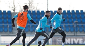 Real Madrid return after two days of rest. EFE/Real Madrid