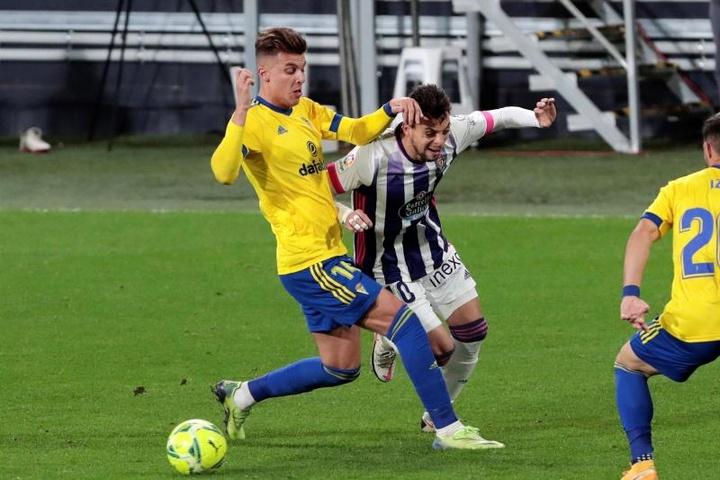 Iván Alejo podría jugar en el equipo de su ciudad. EFE