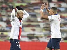 Ocho jugadores del PSG en su once ideal de la Ligue 1. EFE