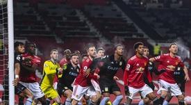 El Manchester United acelera por una de las perlas del fútbol austriaco. EFE/EPA/Archivo