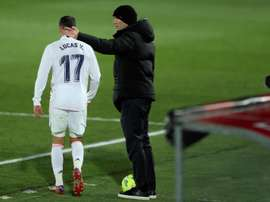 Lucas Vazquez is a vital player for Zidane. EFE