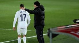 Lucas Vázquez, imprescindible para Zidane. EFE/Archivo