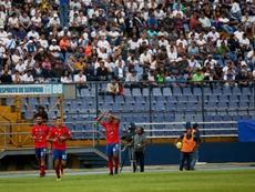 Municipal, Xelajú y Guastatoya, en las semifinales del Apertura. EFE/Archivo