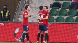 De cara a la segunda ronda de la Copa del Rey. EFE
