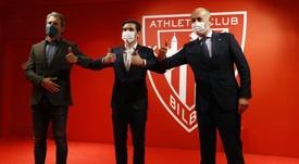 Diretor esportivo do Athletic está encantado com o título da Supercopa. EFE/LUIS TEJIDO