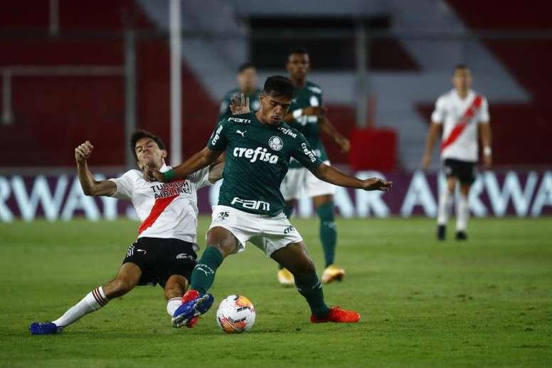 La posible alineación de River Plate vs Palmeiras. EFE