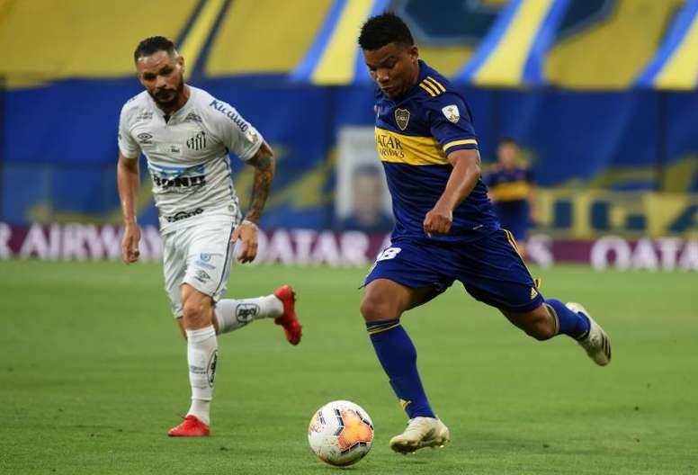 Prováveis escalações de Boca e Santos. EFE