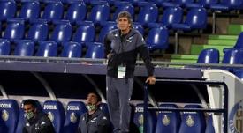 Pellegrini analizó el choque con el Celta. EFE