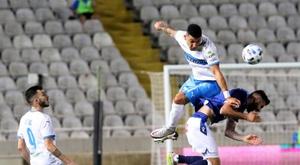 Los seguidores del Apollon chipriota eligirá la próxima equipación. EFE/EPA/SAVVIDES PRESS/Archivo