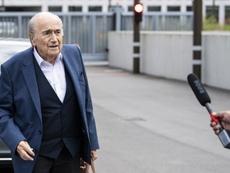 La hija de Blatter confirmó que está ingresado. EFE