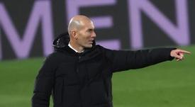 Raymond Domenech talked about Zinedine Zidane. EFE