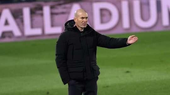 Zidane sans Ramos, Varane, Modric, Odegaard ni Carvajal en coupe. EFE