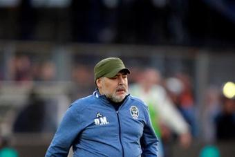Maradona ya avisó en su día a Florentino. EFE