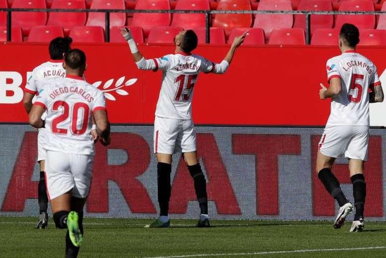 En-Nesyri vive un gran momento goleador. EFE