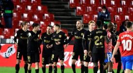 Il Barça stende il Granada. EFE