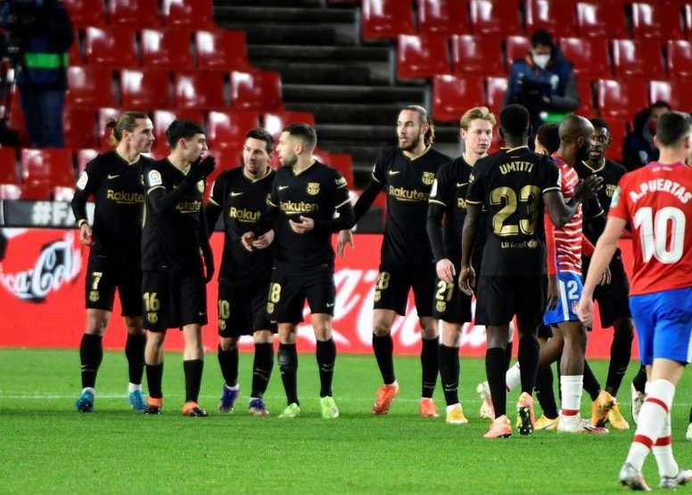 Barcelona manteve invencibilidade iniciada no começo de dezembro. EFE/Miguel Ángel Molina
