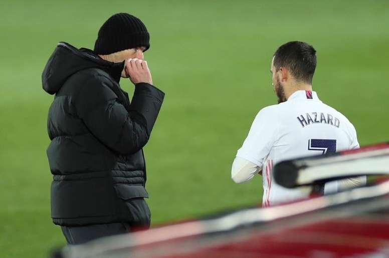 El reto de Hazard en el edén de Zidane. EFE