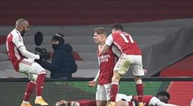 Victoria del Arsenal en la FA Cup. EFE/EPA/ANDY RAIN
