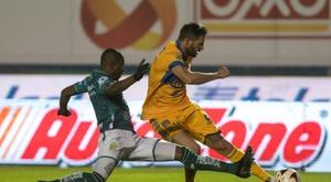 Gignac injured for Tigres. EFE