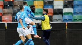 Bakayoko offre la victoire au Napoli. EFE