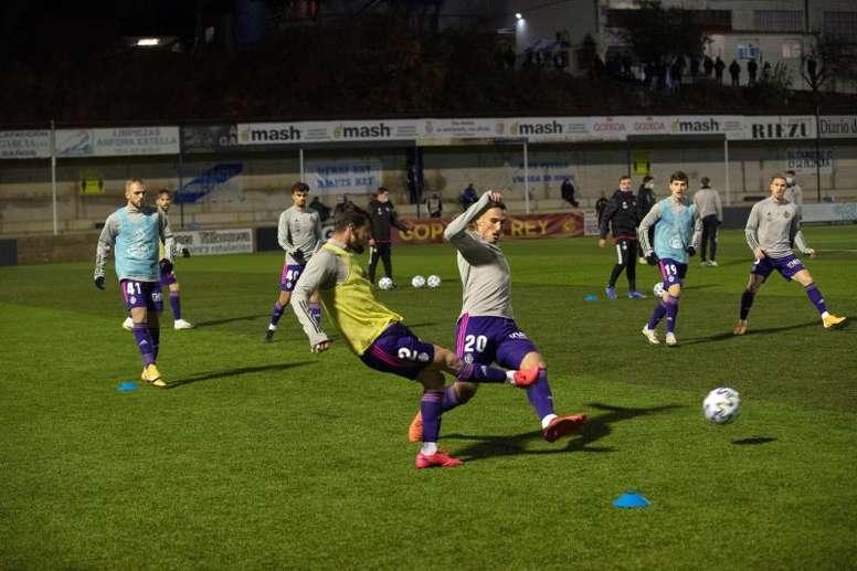 Luis Pérez lamentó la derrota en casa ante el Valladolid. EFE
