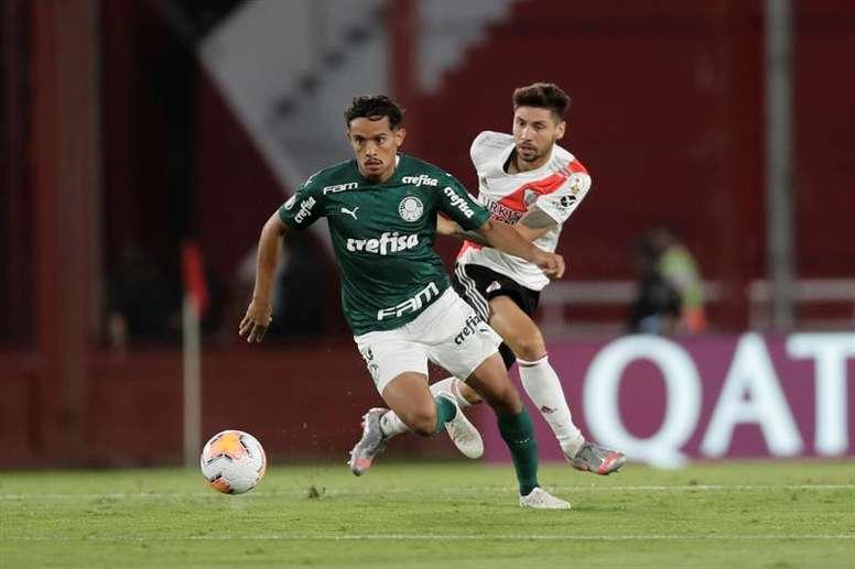 Palmeiras tiene medio pase a la final en el bolsillo. EFE/Archivo