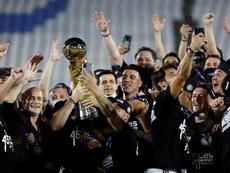 Olimpia, felicitado por la FIFA. EFE